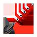 Колебалка красная