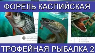 Embedded thumbnail for Ловим Форель каспийская