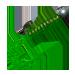 Твистер зеленый