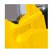 Твистер желтый